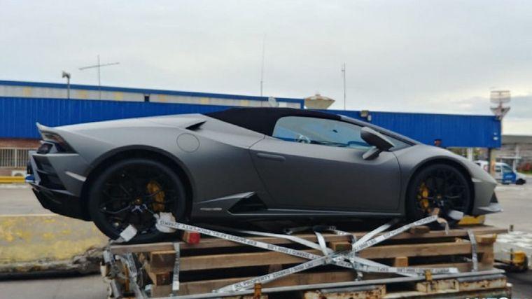 FOTO: Lamborghini que Guillermo Chetta trajo a la Argentina