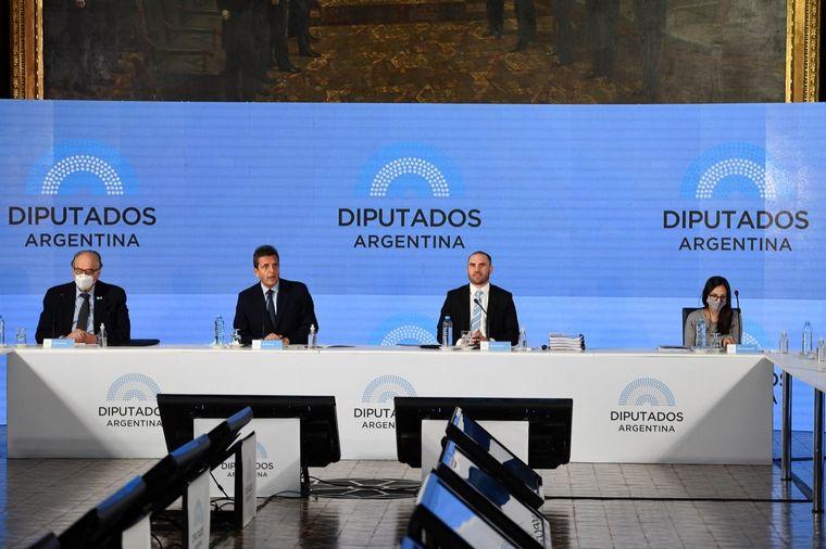 FOTO: Sergio Massa abrió el encuentro en Diputados.