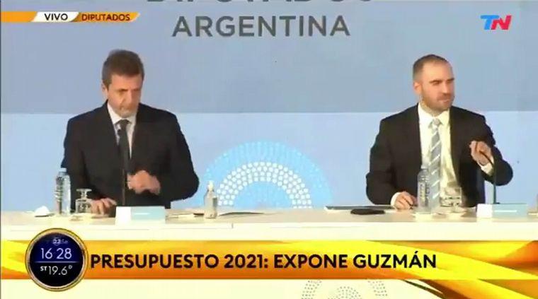 """FOTO: """"Yo también puedo sarasear hasta que esté"""", dijo Guzmán."""