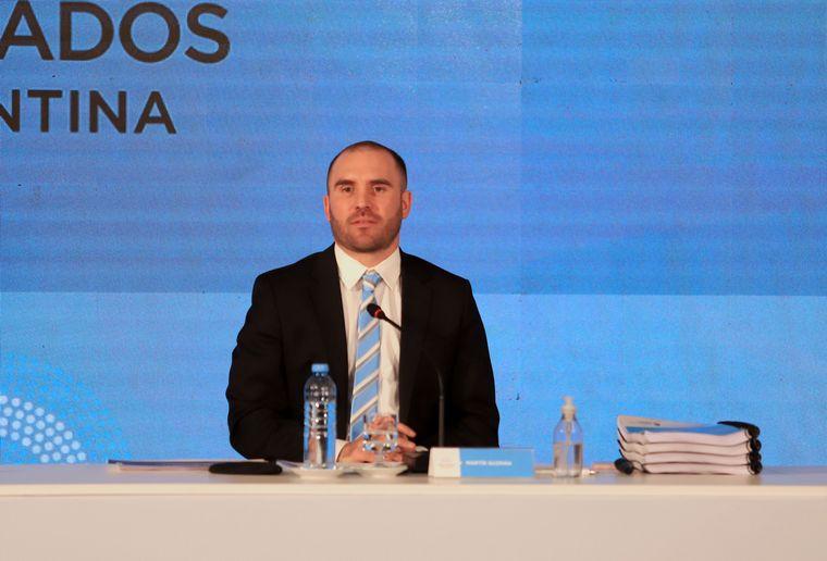FOTO: Martín Guzmán presentó el proyecto de Presupuesto 2021.