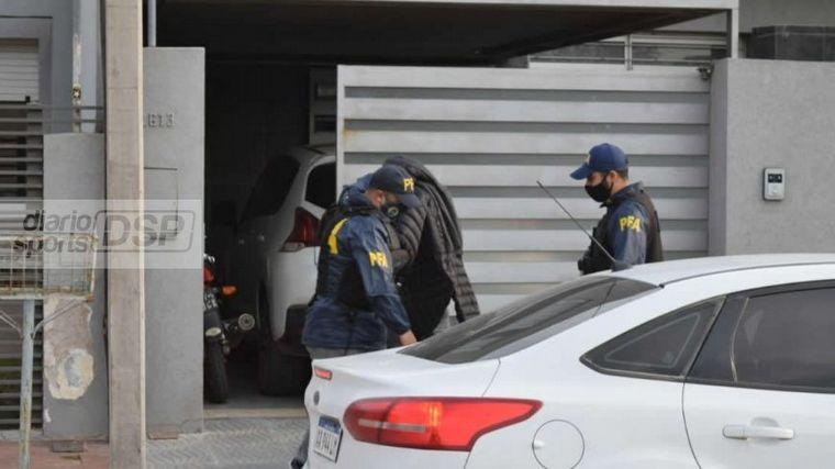 AUDIO: Detienen al presidente de Sportivo por narcotráfico (Foto: La Voz de San Justo)