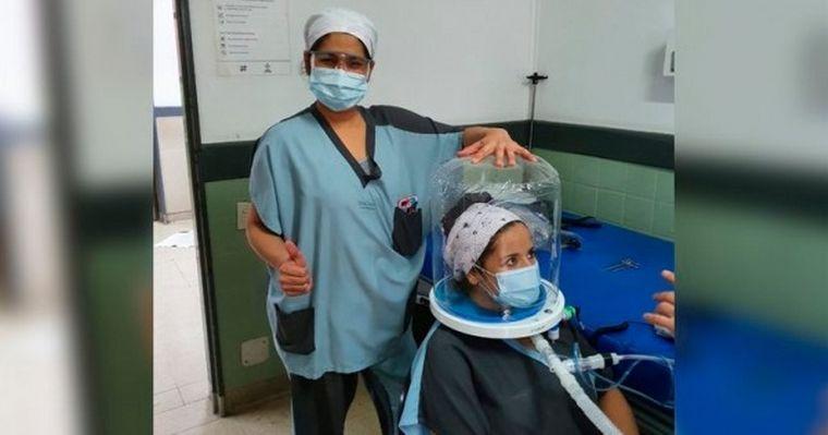 AUDIO: Llegaron a Córdoba los cascos para tratar el coronavirus
