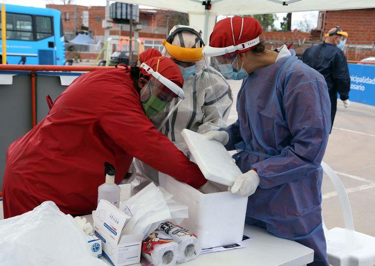 FOTO: La ocupación total de camas de terapia intensiva es del 61,5% en el país.