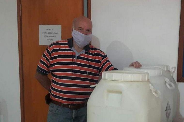 FOTO: Murió Jorge Rossel, el presidente comunal santafesino por coronavirus.