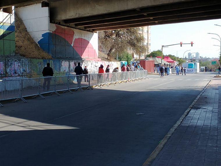 AUDIO: Los CPC de Córdoba siguen testeando por orden de llegada