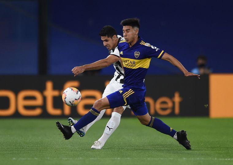 FOTO: Boca y Libertad de Paraguay se enfrentaron por la quinta fecha del Grupo H.