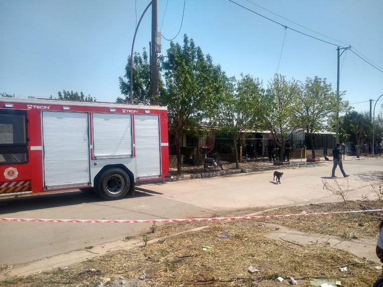 AUDIO: El presunto femicida está internado en grave estado en el Instituto del Quemado
