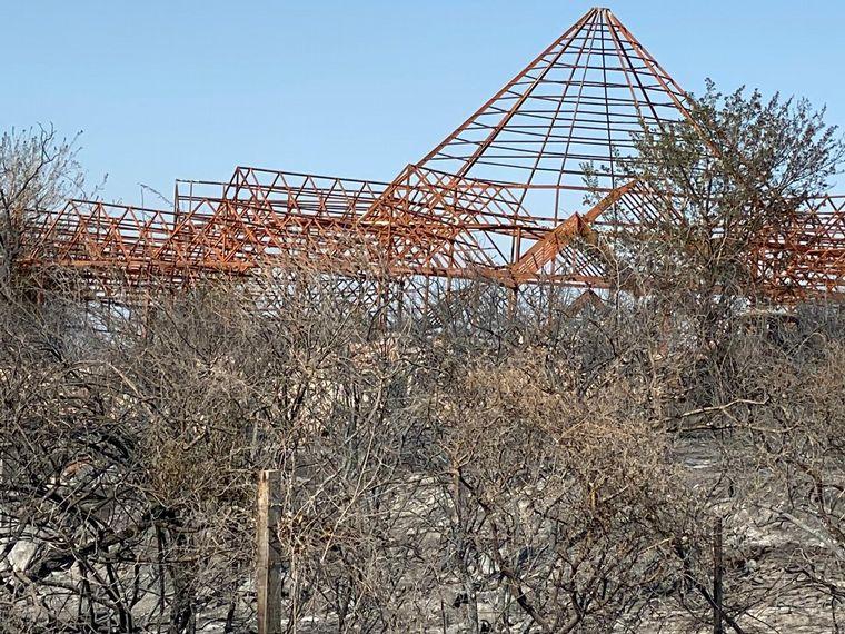 AUDIO: El fuego consumió los viñedos de Pekos