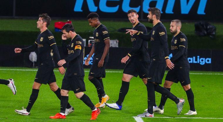 FOTO: Lionel Messi, en una escena del partido ante Celta de Vigo.