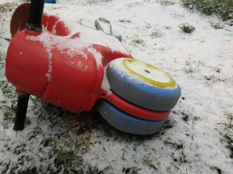 AUDIO: Una nevada sorprendió a Bariloche en primavera