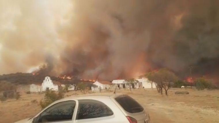 FOTO: Incendio en La Candelaria