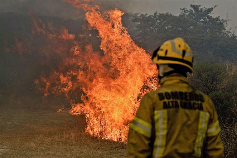 AUDIO: Incendios en San Luis, Tucumán y Catamarca