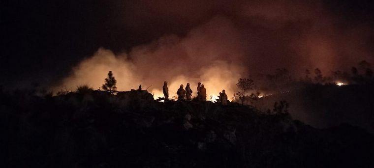 FOTO: Incendios en Alpa Corral