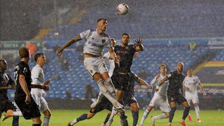 FOTO: Leeds United y Manchester City empataron 1-1.