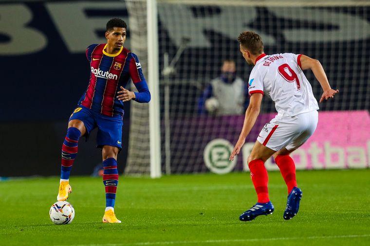 FOTO: Barcelona y Sevilla igualaron 1-1 en el Camp Nou.