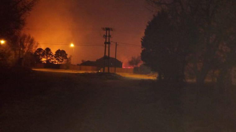AUDIO: Altercado entre y policías de La Punilla por los incendios