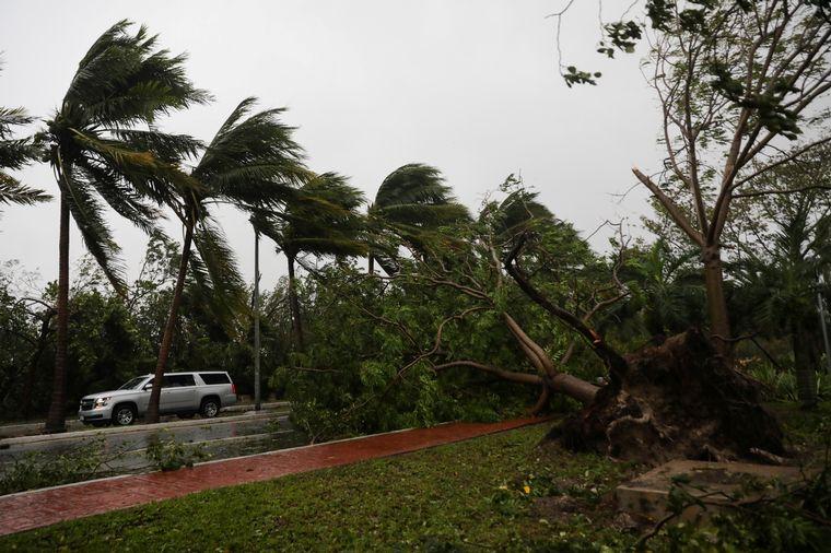 FOTO: Imágenes y videos impactantes del huracán Delta en México.