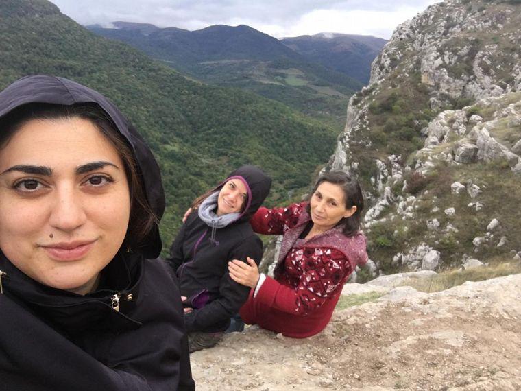 FOTO: Marisol Khadeyan, cordobesa en Armenia