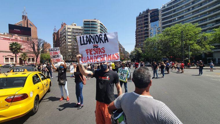 FOTO: Fuerte rechazo por las actividades restringidas en Córdoba (Foto de archivo)