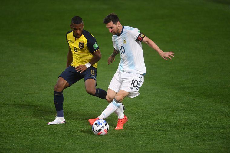 FOTO: Lionel Messi anotó el gol del triunfo de la Selección