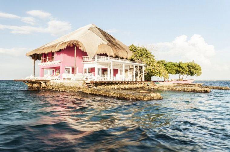 FOTO: Cuánto sale alquilar una isla con una lujosa casa del Caribe