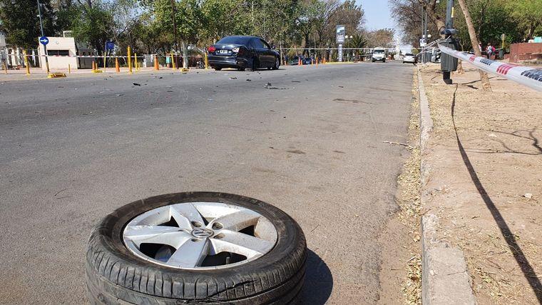 AUDIO: Impactante choque en el Parque Sarmiento de Córdoba: cuatro heridos
