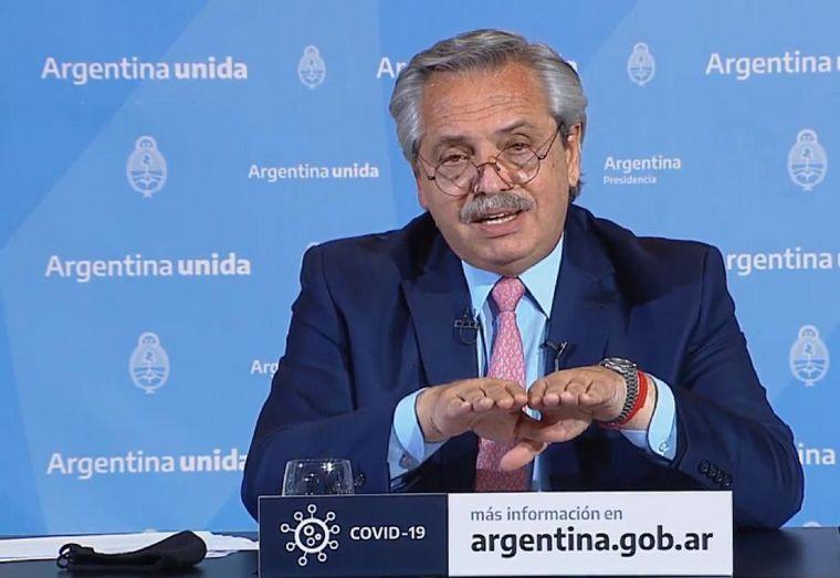FOTO: Los gobernadores apoyaron al presidente Alberto Fernández.