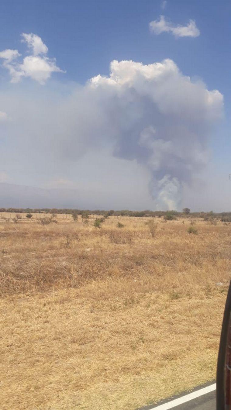 AUDIO: Un nuevo incendio afecta al Valle de Traslasierra