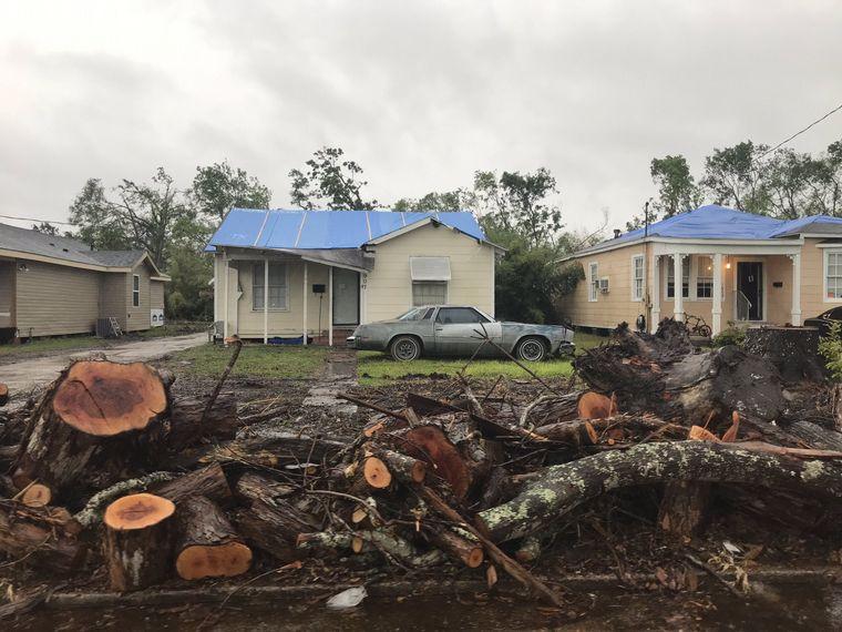 FOTO: El huracán Delta provoca que miles de vecinos sean evacuados en EE.UU.