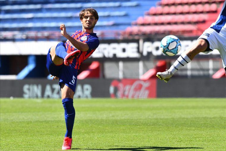 FOTO: El primer triunfo de San Lorenzo en la era Soso: 1 a 0 a Talleres. Foto: Prensa CASLA