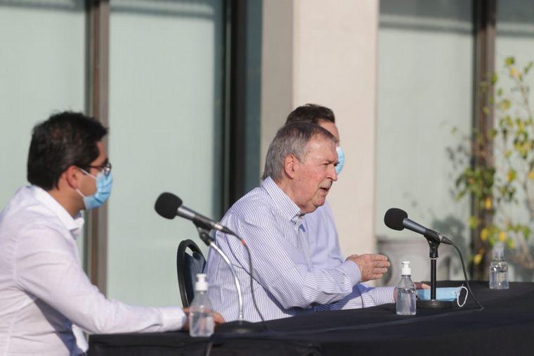 AUDIO: El Foro de intendentes de la UCR manifestó su apoyo a las restricciones