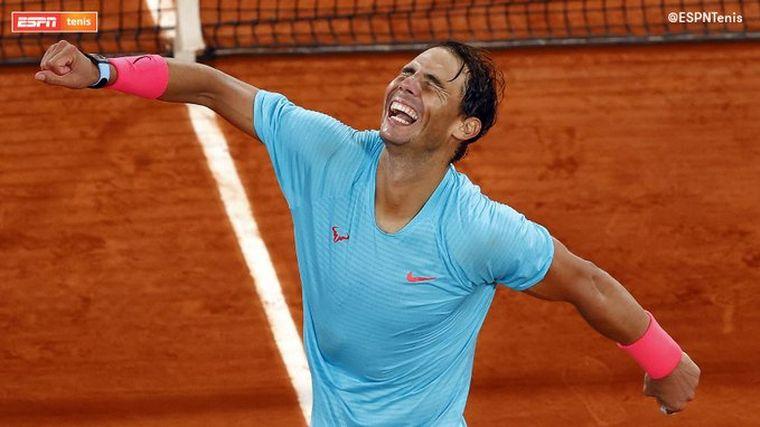FOTO: Rafael Nadal ganó su 13° Roland Garros.
