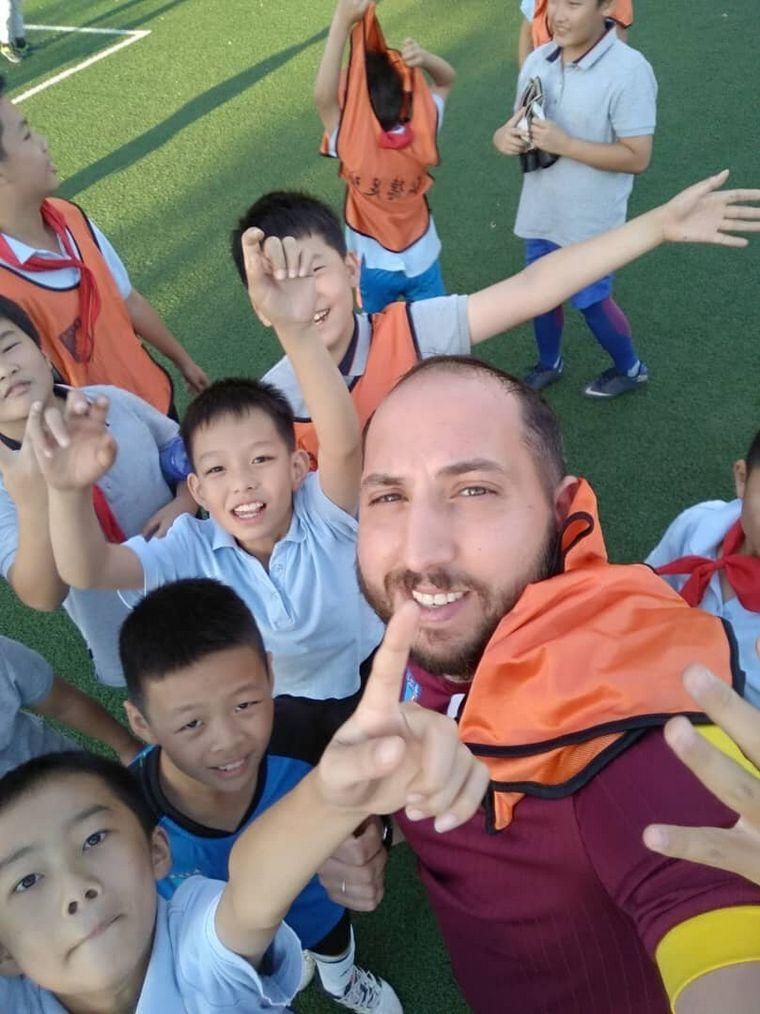 AUDIO: Diego Trenado, un cordobés entrenador de fútbol en Pekín