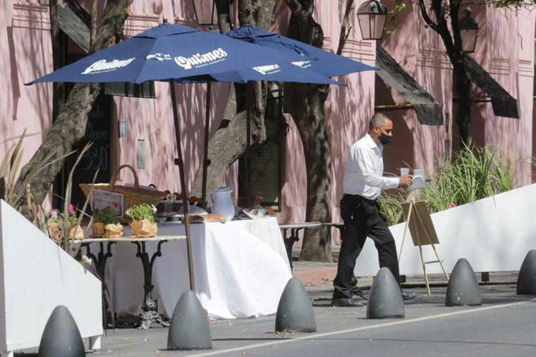 FOTO: En la Córdoba Capital se registró poco movimiento.