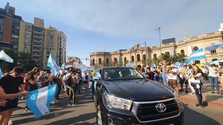 FOTO: 12O banderazo en Córdoba
