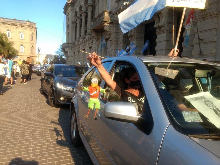 FOTO: Banderazo del 12O en La Rioja