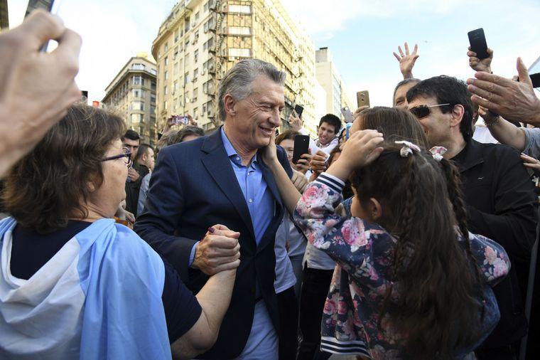 """FOTO: """"Siento que no es mi lugar y además yo no necesito fueros"""", expresó Macri."""