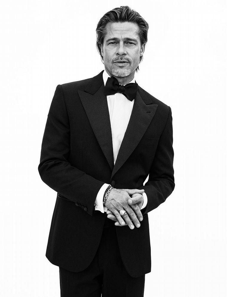 FOTO: Brad Pitt posó a sus 56 años