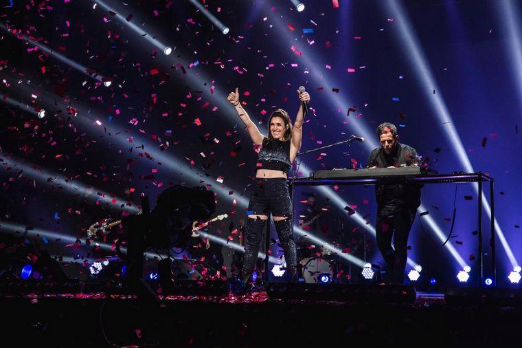 FOTO: Soledad festejó sus 40 años con un concierto online