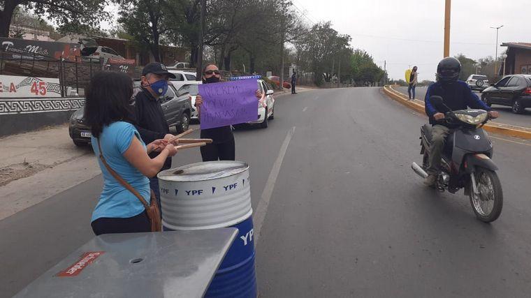 AUDIO: Protesta de gastronómicos y el sector turístico en Cosquín