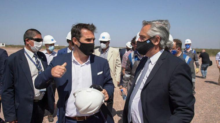 FOTO: Alberto Fernández llamó a reconstruir YPF
