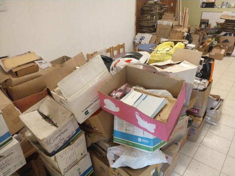 AUDIO: Lanzan campaña de reciclaje y juntan 7 mil kilos de cartón