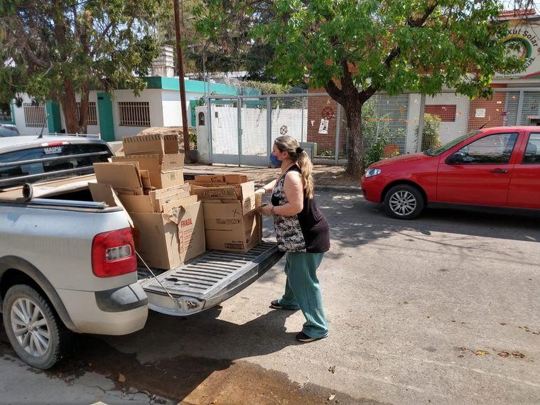 FOTO: La campaña de la Escuela 4 Elementos ya juntó 7 mil kilos de cartón