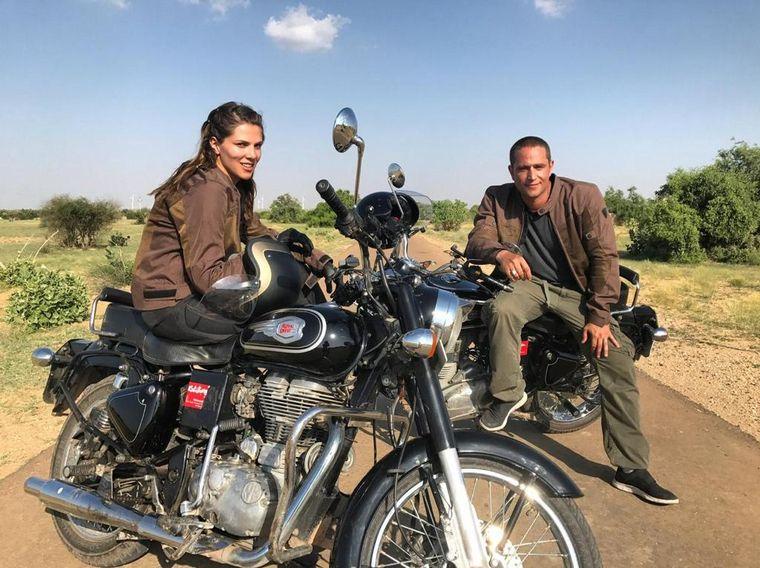 FOTO: Michel Brown protagoniza el documental junto a su esposa Margarita Muñoz
