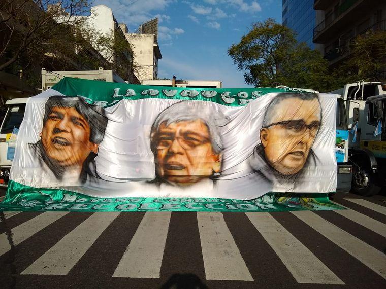 AUDIO: Caravana de Camioneros por el Día de la Lealtad