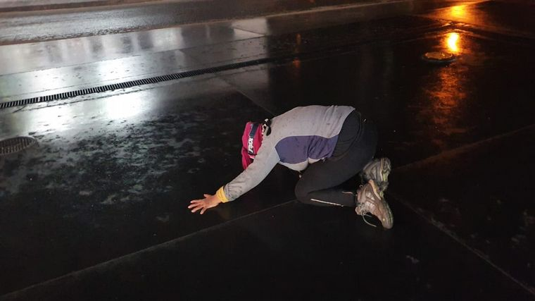 AUDIO: La lluvia en Capilla del Monte causó emoción: