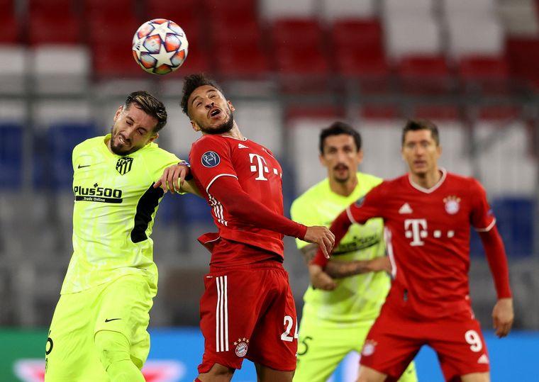 FOTO: El Bayern Múnich aplastó al Atlético Madrid del