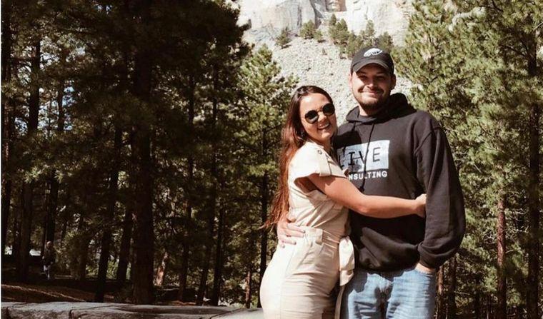 FOTO: Agustina y Scott se conocieron en Denver cuando ella viajó por intercambio.