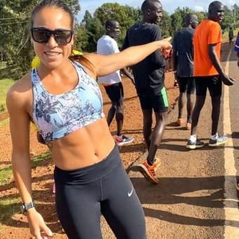 FOTO: Pese a los obstáculos, Belén Casetta no renuncia a su sueño olímpico.