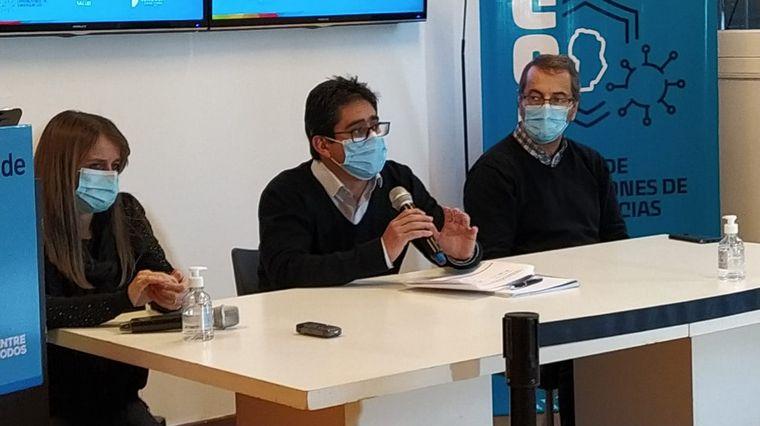 AUDIO: El ministro de Salud de Córdoba reconoció que hubo una baja de informes de negativos.